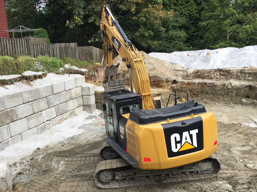 land clearing and excavation