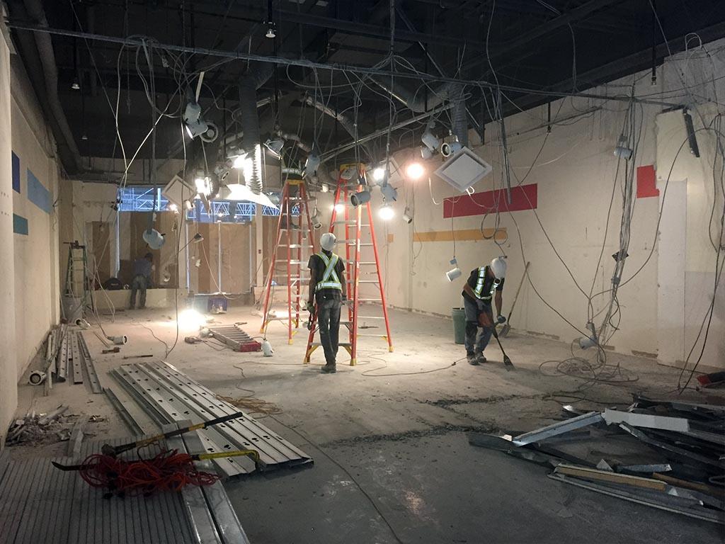 commercial interior demolition