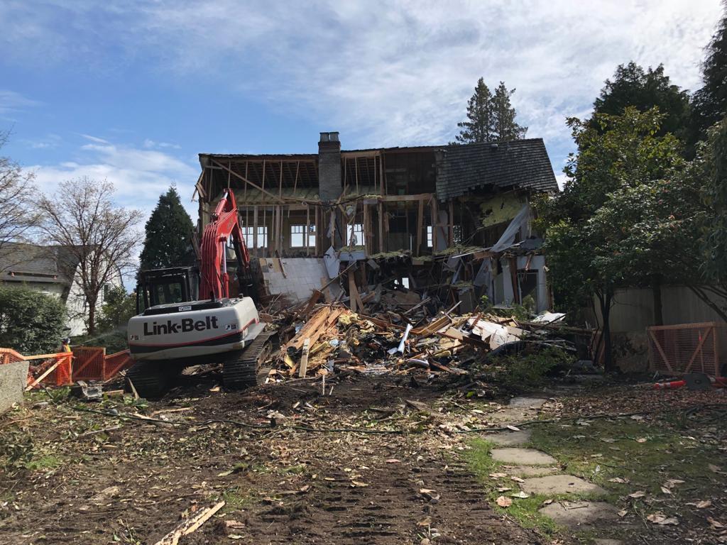 house demolition west vancouver bc