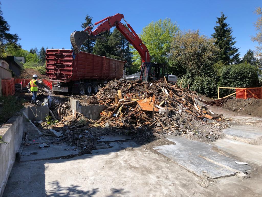 home demolition contractors
