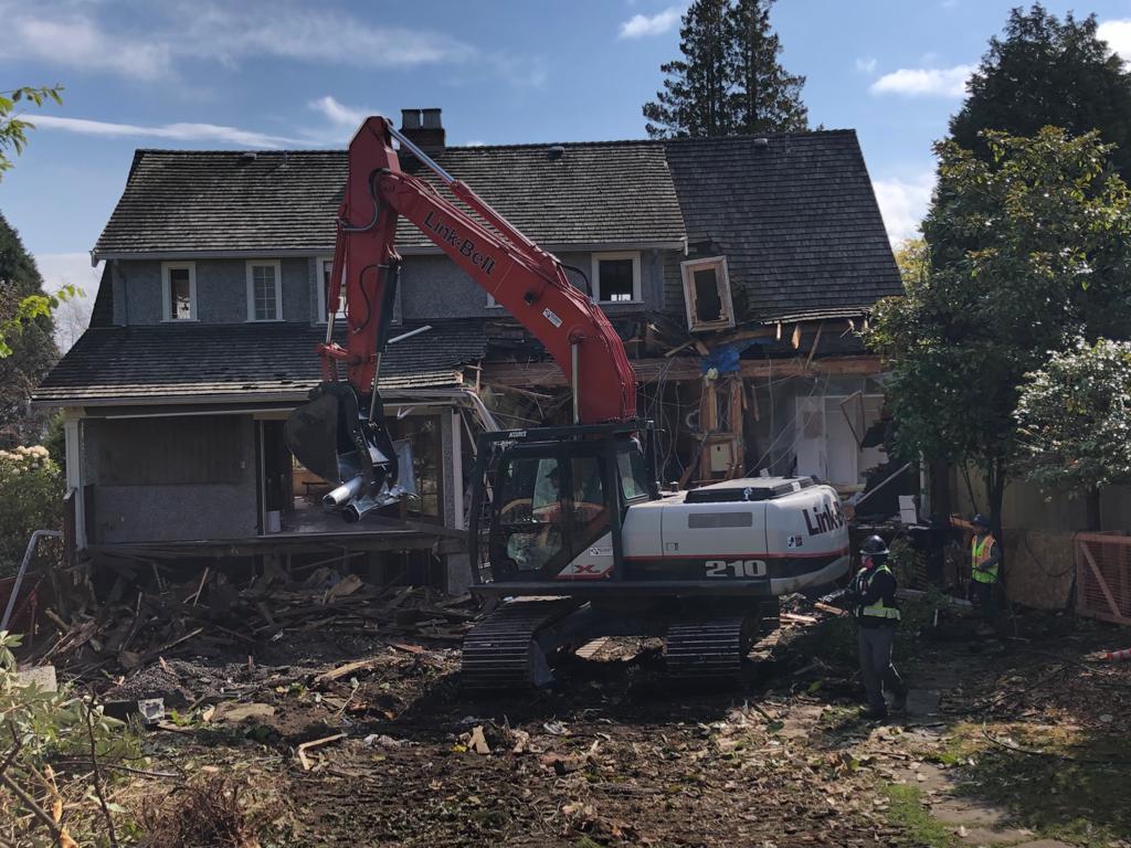 house demolition vancouver